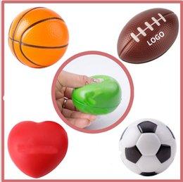 Futebol Futebol Squishy Lento Rising Creme Perfumado alivia stress Kid Brinquedos Basquete Lento Rising Squishy venda por atacado
