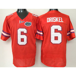 florida numbers 2019 - Mens Florida Gators JEFF DRISKEL Stitched Name&Number American College Football Jersey Size S-3XL cheap florida numbers