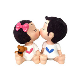 $enCountryForm.capitalKeyWord NZ - Creative Resin Car Decoration Cartoon Cute Doll - Kissing Doll - Best Gift for Home Car - 1 pcs