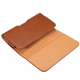 Cases for Cubot online shopping - Universal Belt Clip PU Leather Waist Holder Flip Pouch Case for Cubot Z100 Pro Echo X16 S