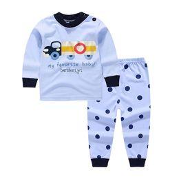 Discount boy cars t shirts - 2017 Children Baby Girl Cartoon cars t shirt+pants 2PCS Clothes Set Suit Top Sweater clothing set baby boy Cotton suits
