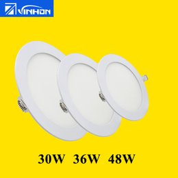small downlight Australia - Super bright 30W 36W 48W downlight lowest price cheap Vinhon 6 pcs 6pcs LED panel light recessed round 6 pieces small order