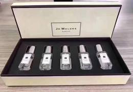 Wholesale Top Quality !Jo Malone London 5 smell type perfume 9ml*5 top quality free shipping