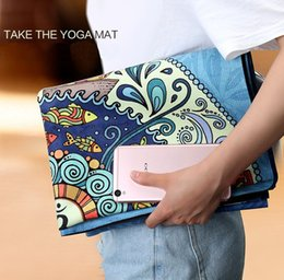 $enCountryForm.capitalKeyWord Canada - Portable Non-slip Yoga Mat For Fitness Natural Rubber Sports Mats Fitness Colchonete Gym Exercise Pad 187*61*1cm High Quality