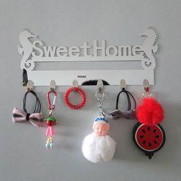 $enCountryForm.capitalKeyWord Australia - New Acrylic Hanger For Keys Wall Hooks Rails Sweet Home Acrylic Hooks On The Wall Decorative Coat Rack Decoration For Home