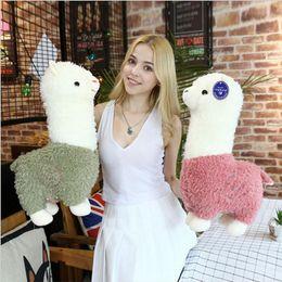 Discount easter plush toys wholesale - Kid Plush Toy Alpaca Stuffed Doll Toys Kids Llama Figure Squishy Brinquedos Animal Cartoon Toys Kids Girls Christmas Gif