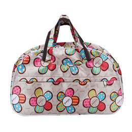 4a269b2b58 Fashion Waterproof Oxford Women bag Sunflower Pattern Travel Bag Large Hand  Canvas Luggage Bags