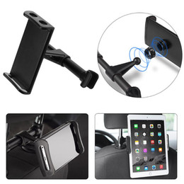 $enCountryForm.capitalKeyWord NZ - wholesale 200mm Car Universal Backseat Headrest Support Phone Tablet Clip Mount Bracket Holder Car Seat Back Holder For iPhone iPad