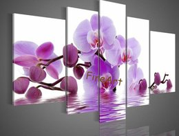Good Paintings Australia - hand painted good quality wall panel 5 pieces wall art cherry blossom oil painting modern oil painting canvas unique gifts Kungfu Art
