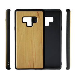 $enCountryForm.capitalKeyWord Australia - New Product Genuine Wood Case For Samsung Galaxy Note9 Note8 S8PLUS Wooden Bamboo Mobile Phone Cover S7 S7EDGE High Quality Back Shell