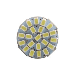BulB 1156 dc online shopping - 2P SMD P21W BA15S LED Bulb Auto Front Lights Brake Lights Turn Lights Parrking Lamp Bulb DC V white yellow