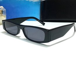 Small packageS online shopping - Luxury Sunglasses For Women Small Square Popular SL256 Deisng Full Frame UV400 Lens Summer Style Top Quality Come With Package