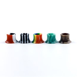 $enCountryForm.capitalKeyWord UK - Colorful Rainbow Mini Super Tank Epoxy Resin Drip Tips Mouthpiece For Tobeco MINI SUPERTANK Drip Tip Wide Bore