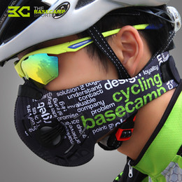 dust mask filters UK - Anti Pollution City Cycling Face Mask Fitness Dust-Proof Outdoor Sports Jogging Mask Mens Motorcycle Air Filter Half Face Protective Gear