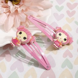 Discount baby hair designs - MINHIN Charming Baby Girls Hair Jewelry Smart Design Hair Clip 1 Pair Girls Princess Hairpin Party Gift
