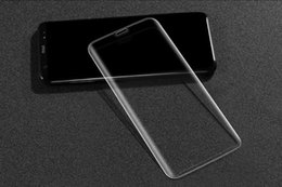 Samsung Screen Glass Guard Australia - Full Cover clear Tempered Glass Screen Protector Guard Hardness Film for Samsung Galaxy S8 S9 S8 Plus S9 plus with retail box package