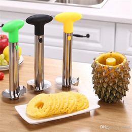 $enCountryForm.capitalKeyWord NZ - Kitchen Gadget Peeler Cutter Stainless Steel Open Pineapple Automatic Peeling Spiralizer Grind Handle Easy Clean Slicer Corer 3 45sm jj
