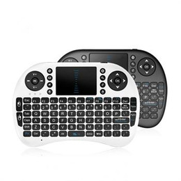 rii mini i8 2.4ghz wireless keyboard UK - 100% New Rii mini i8+ Wireless Keyboard WITH BACK-LIT For Smart TVPC Android TV 2.4GHz