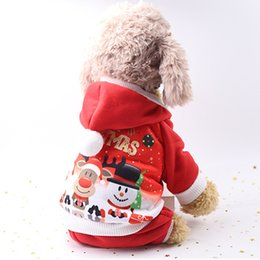 summer costumes for dogs 2019 - Pet Dog Clothes Festival Dressing Clothes Cute Warm Look Vertical Standing Costumes Fleece Perfect For Christmas Party P