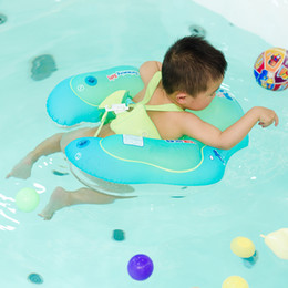 Baby Pool Inflatables NZ - Baby Swimming Ring Inflatable Infant Armpit Floating Kids Swim Pool Accessories Circle Bathing Inflatable Double Raft Rings Toy
