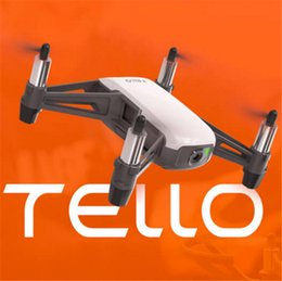 Toy Camera App Canada - DJI Tello Mini Drone 720P HD Transmission Camera APP Remote Control Folding Toy FPV RC Quadcopter Drones with EZ Shots