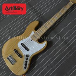 $enCountryForm.capitalKeyWord NZ - Factory custom 5 strings bass guitar JAZZ BASS with maple fingerboard Ash body musical instrument shop