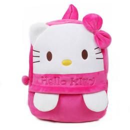$enCountryForm.capitalKeyWord UK - Big kids Backpacks School Backpack Pooh Doraemon Pink Hellokitty Duck Mochila Toddler Borsetta Plush bookbags Kids Toys kids designer Pink