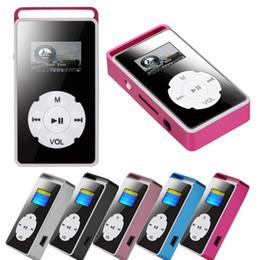 32g micro 2019 - MP3 Medium Player Digital MP3 Player LCD Screen Support Micro SD TF Card 32G Mirror Music Media USPS Dropshipping #N19 c