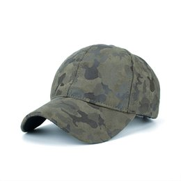 Chinese  Camouflage Suede Baseball Tennis Cap Peaked Caps Sun Hat Sunshade Hats Won't Let You Down Camo Pu Gorras 15 2zm gg manufacturers
