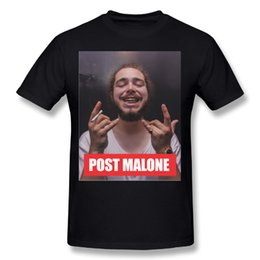 3d844b586ec 2018 New Arrival Post Malone T Shirts Quality Graphic Print Round Collar T- shirt