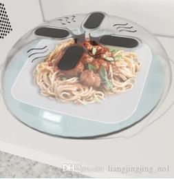 Steam heating online shopping - Magnet Food Splatter Lid with Steam Vents Microwave Splatter Lid Splatter Guard Cover Microwave Hover Anti Sputtering Cover Heat Resistant