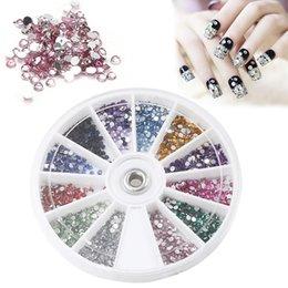 Schönheit & Gesundheit Honig Bunte Metall Rand Perle Perlen Glitter Strass Kristall Gems 3d Tips Nail Art Rad Diy Maniküre Dekoration Werkzeug Zubehör