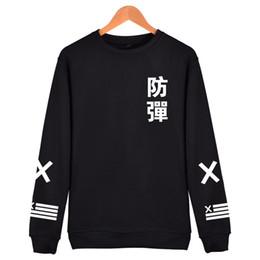 $enCountryForm.capitalKeyWord NZ - 2018 BTS Kpop Harajuku Hoodies men Black Coon Fashion Hip Hop Coat Capless Sweatshirt men BTS Korean Casual Bangtan Clothes