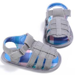 Baby Girl Summer Canvas Shoes Australia - BMF TELOTUNY Fashion Summer Baby Infant Kids Girl boys Canvas Soft Sole Crib Toddler Newborn Sandals Shoes Apr17 Drop Ship