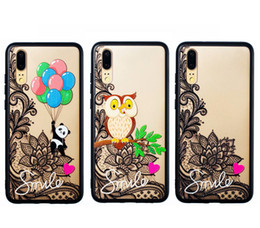p painting NZ - Casing P20 Cartoon Painted Hard Cover For Huawei P 20   P20 Pro Case P20pro Coque Phone Cases