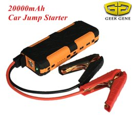 Car Emergency Start Australia - Emergency Car Jump Starter 20000mAh 800A Peak Starting Device Lighter Power Bank 12V Car Charger For Battery Diesel