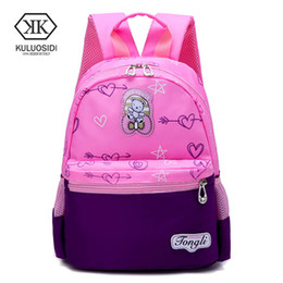 Cartoon Kids School Backpack Children School Bags For Kindergarten Girls  Boys Nursery Baby Student book bag infantil 182d27879a9ca
