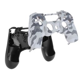 0d5d54de Best Camouflage Gamepad Controller Housing Shell W Buttons Kit For PS4  Handle Cover Case White Purple Hot Sale