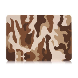 laptop hard cases shells UK - Ultra Slim Light Military Camouflage Decal pattern Rubberized Matte Hard Case Plastic Protect Shell Cover for Macbook 11  12 13 15 inch