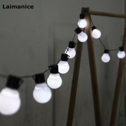 outdoor christmas decorations big 2020 - 2.5M 10 led string light 5CM super big ball AC110V 220V Outdoor for Christmas Party festival Wedding Decoration white Wa