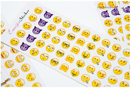 $enCountryForm.capitalKeyWord Australia - A18 12 Sheets Kawaii Cute Phone Computer Emoji Decorative Stickers Stick Label Paper Decor Student Stationery Kids Gift