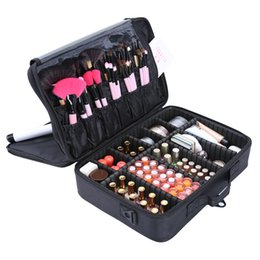 $enCountryForm.capitalKeyWord Canada - New Fashion Women Cosmetic Bag Travel Makeup Organizer Female Lady Professional Make Up Box Cosmetics Box Pouch Bags Beauty Case