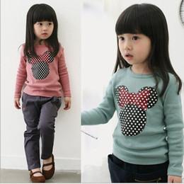 cartoon clothes korean 2019 - 2017 new spring children's clothing Korean lamb baby girls hooded sweater cartoon children hoodies kids sweatshirt