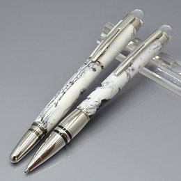 stars clouds NZ - Luxury star-walker white cloud stone MB Roller ball pen Ballpoint pens stationery school office supplies top grade write refill gift pens