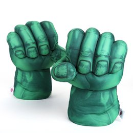 China Marvel Super Hero Avengers Hulk Cosplay Gloves Plush Toy Soft Stuffed Doll supplier marvel avengers toys suppliers
