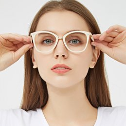 279e71b662 Ultra-light retro glasses frame can be fitted with myopic round frame eyes  tidal men and women with small face leopard print