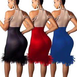 Hot drilling sexy strapless dress cross-country color dress 2018 Europe and  the United States Amazon new women s clothing cbf6e9b39ffb