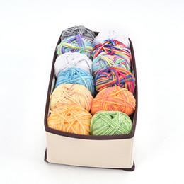 Chinese  new hot sale Multi-size Organizer Storage Box For Underwear Scarfs Socks Bra Drawer Closet Organizers Boxes Underwear Bra manufacturers