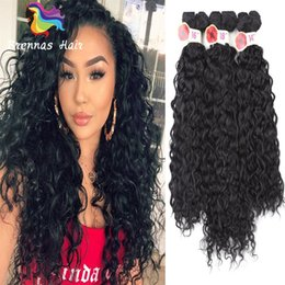 $enCountryForm.capitalKeyWord Canada - Synthetic fiber expression braiding hair weaves kinky curky twist afro curly purple blonde brown color weavy hair bundles 1 pack for head