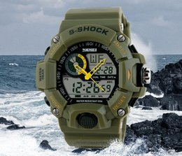 Wholesale Tactical Watch Men Montre S Shock Digital Watch Outdoor Sport Dual Time Waterproof M Travel Chronograph Clock